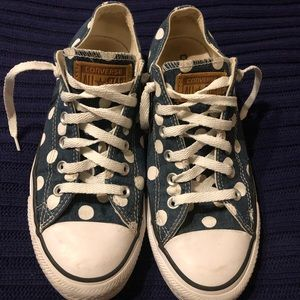 Women's polka dot Converse All Stars